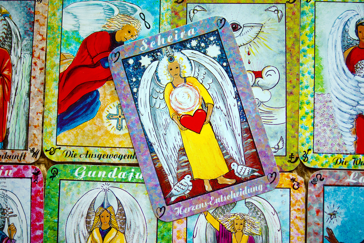 Angel Cards used for an Angel Card Reading