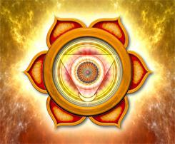 Chakra 2 Sacral Orange Symbol