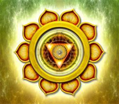 Chakra 3 Solar Plexus Yellow Symbol