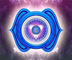 Chakra 6 Forehead Indigo Symbol