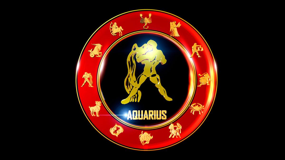 Aquarius Horoscope Zodiac Wheel