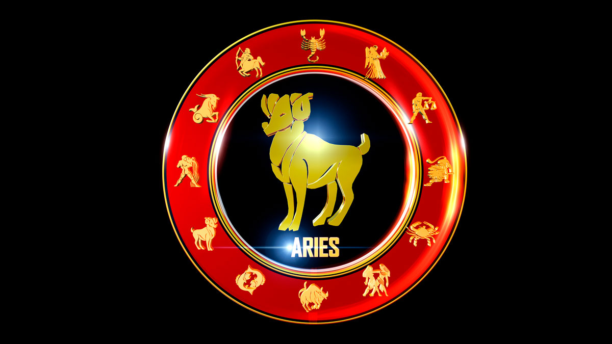Aries Horoscope Zodiac Wheel