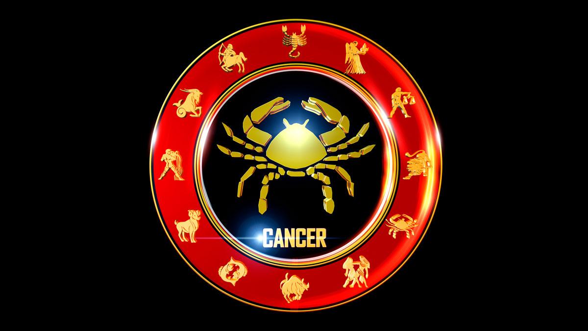 Cancer Horoscope Zodiac Wheel