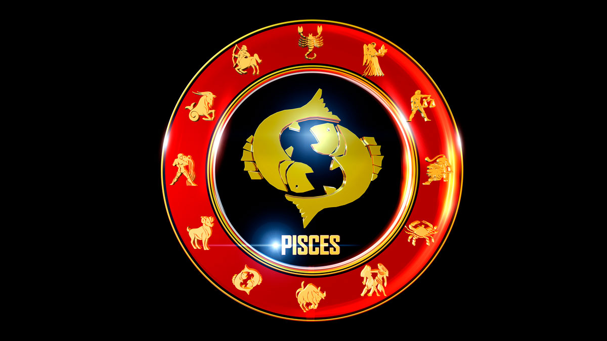 Pisces Horoscope Zodiac Wheel