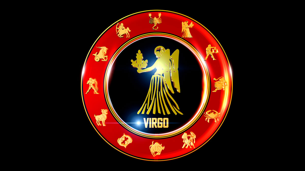 Virgo Horoscope Zodiac Wheel